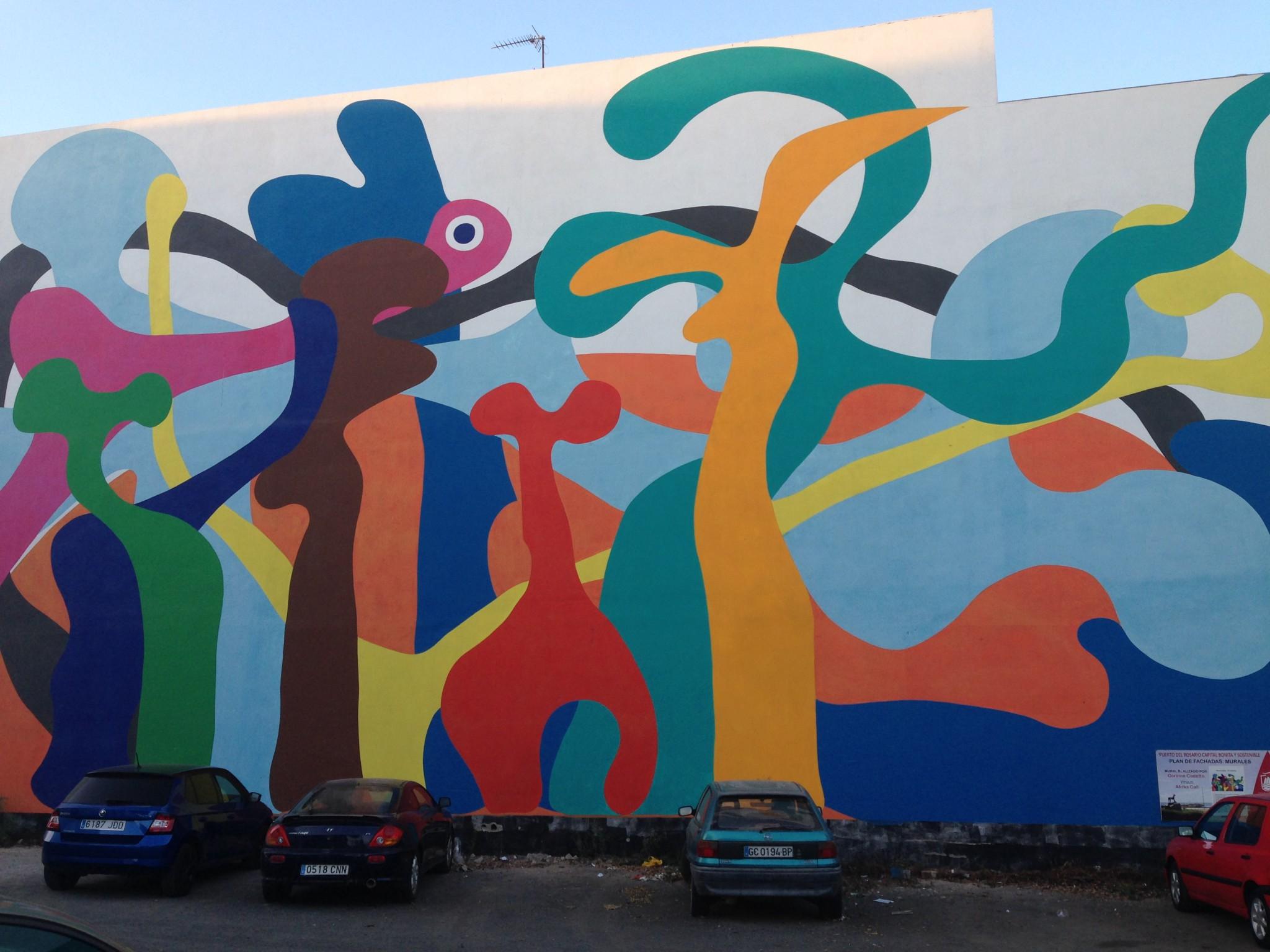 Ruta de los murales de Puerto del Rosario